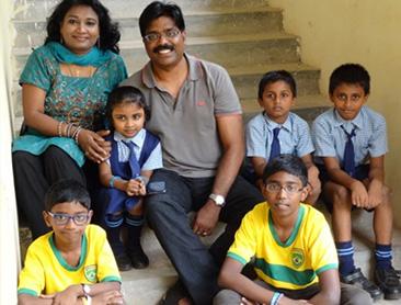 (English) Family Benjamin with CCP kids